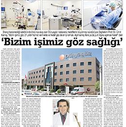 Bizim Işimiz Göz Sağlığı Dünyagöz Hastaneler Grubu