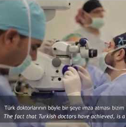 First Bionic Eye Surgery In Turkey Was Performed At Dunyagoz.